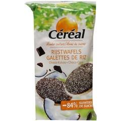Cereal Choco rijstwafels cocos (100 gram)