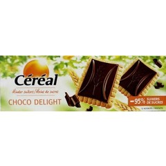 Cereal Koek choco delight minder suikers (126 gram)