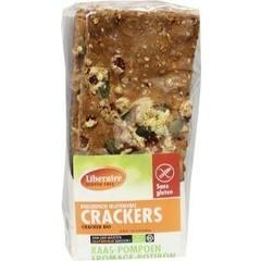 Liberaire Crackers pompoen (250 gram)