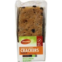 Liberaire Crackers rozijnen (250 gram)