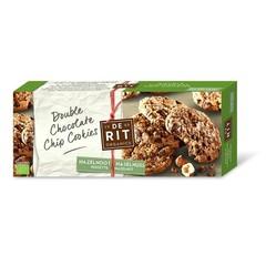 De Rit Double chococookies hazelnoot (175 gram)