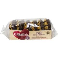 Mrs Crimbles Choco makronen (6 stuks)