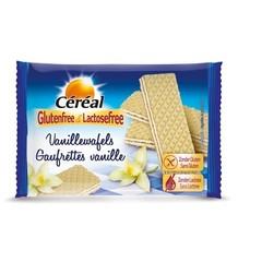 Cereal Vanille wafels glutenvrij (125 gram)