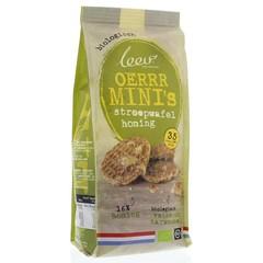 Leev Bio mini honingwafels volkoren met 16% honing (150 gram)