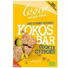 Leev Bio Cookiebar kokos-citroen (141 gram)