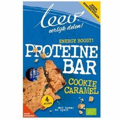 Leev Bio cookiebar proteine karamel (140 gram)