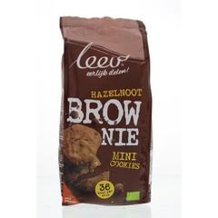 Leev Bio brownie hazelnoot cookies speltvolkoren (150 gram)