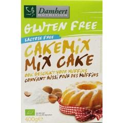 Damhert Cakemix glutenvrij (400 gram)
