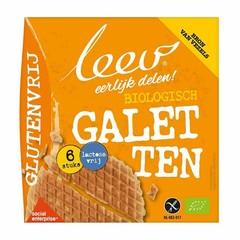 Leev Bio glutenvrije galetten (lactosevrij) (6 stuks)