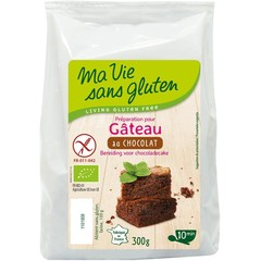 Ma Vie Sans Chocolade cakemix bio - glutenvrij (300 gram)