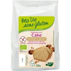 Ma Vie Sans Amandel kastanje cakemix bio - glutenvrij (300 gram)