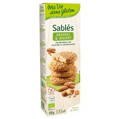 Ma Vie Sans Zandkoekjes amandel en aardamandel bio - gv (150 gram)