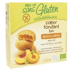 Ma Vie Sans Koekjes met abrikoos / perzik glutenvrij 6 x 2 stu (12 stuks)