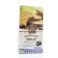 De Rit Boomgaard koekjes blauwe bes (175 gram)