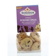 Sommer Spelt koekjes chocosplit (150 gram)