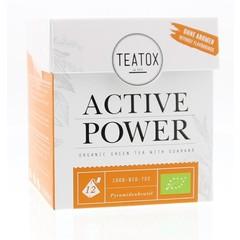 Teatox Bio Thee Active power thee bio (12 zakjes)