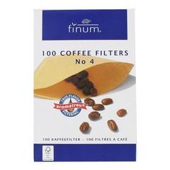Finum Koffiefilters no. 4 (100 stuks)