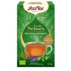 Yogi Tea Tea for the senses peaceful moment (20 zakjes)