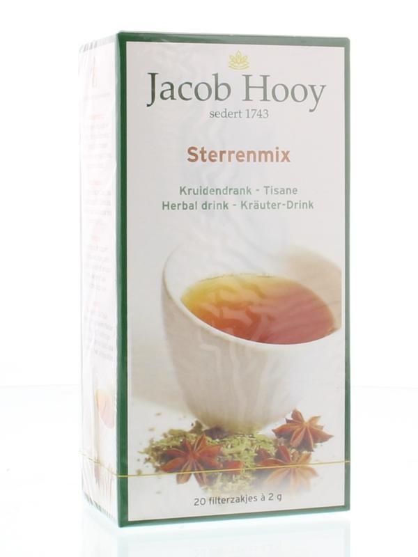 Jacob Hooy Jacob Hooy Sterrenmix thee (20 zakjes)