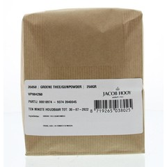 Jacob Hooy Groene thee / gunpowder (250 gram)