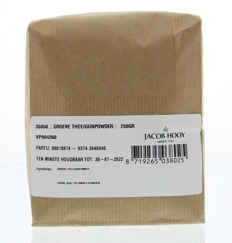 Jacob Hooy Jacob Hooy Groene thee / gunpowder (250 gram)