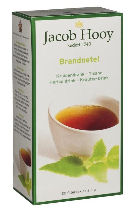 Jacob Hooy Jacob Hooy Brandnetel theezakjes (20 zakjes)