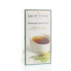 Jacob Hooy Gezonde nachtrust thee (20 zakjes)