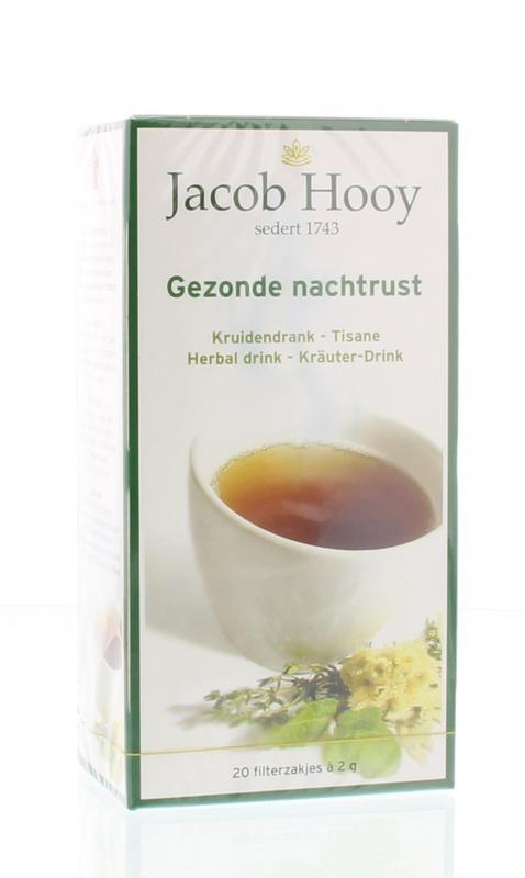 Jacob Hooy Jacob Hooy Gezonde nachtrust thee (20 zakjes)
