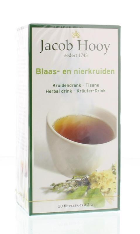 Jacob Hooy Jacob Hooy Blaas en nier thee (20 zakjes)