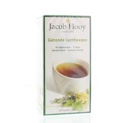Jacob Hooy Gezonde luchtwegen thee (20 zakjes)