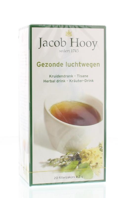 Jacob Hooy Jacob Hooy Gezonde luchtwegen thee (20 zakjes)