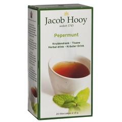 Jacob Hooy Pepermuntthee (20 zakjes)