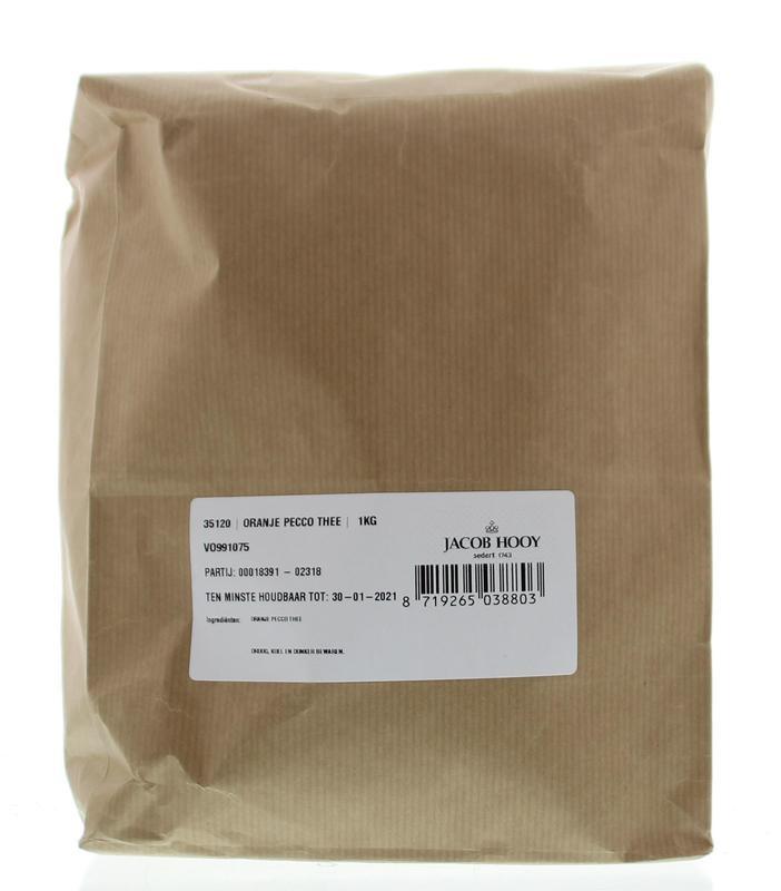 Jacob Hooy Jacob Hooy Oranje pecco thee (1 kilogram)