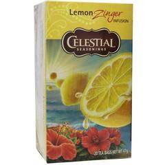 Celestial Season Lemon zinger herb tea (20 zakjes)