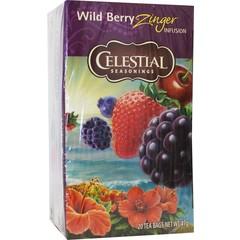 Celestial Season Wild berry zinger herb tea (20 zakjes)
