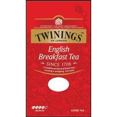 Twinings English breakfast tea karton (100 gram)