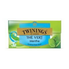 Twinings Green mint (25 zakjes)