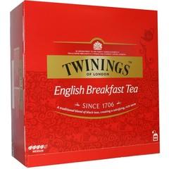 Twinings English breakfast envelop (100 stuks)