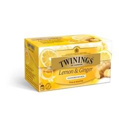 Twinings Infusions lemon ginger (25 zakjes)