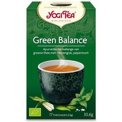 Yogi Tea Green balance (17 zakjes)