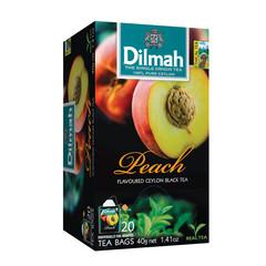 Dilmah Perzik vruchtenthee (20 zakjes)