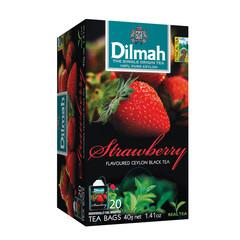 Dilmah Aardbei vruchtenthee (20 zakjes)