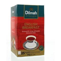 Dilmah English breakfast classic (25 zakjes)