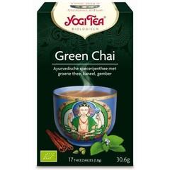 Yogi Tea Green chai (17 zakjes)