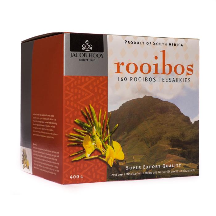 Jacob Hooy Jacob Hooy Rooibosthee jubileum doos (160 zakjes)