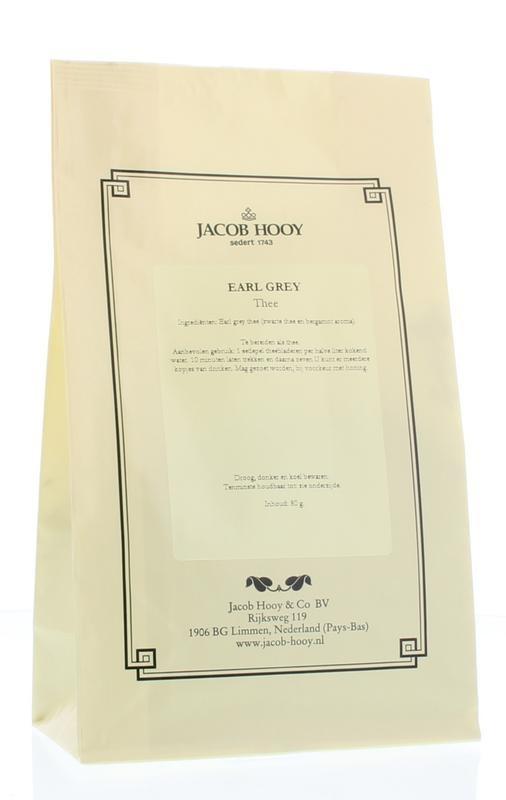 Jacob Hooy Jacob Hooy Earl grey thee (80 gram)