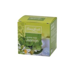 Simon Levelt Groene thee/jasmijn bio envelop (10 zakjes)