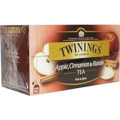 Twinings Apple cinnamon raisin aroma (25 zakjes)