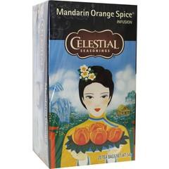 Celestial Season Mandarin orange spice herb tea (20 zakjes)
