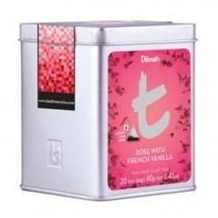 Dilmah Rose with French vanilla thee (20 zakjes)